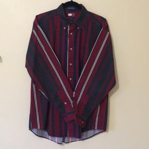 Vintage Tommy Hilfiger Multi Striped Button Shirt